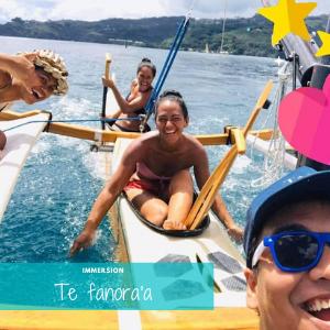 immersion à Tahiti en pirogue