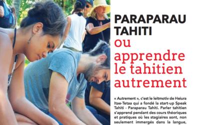 «Paraparau Tahiti, ou apprendre le Tahitien autrement» – HONO'ITE